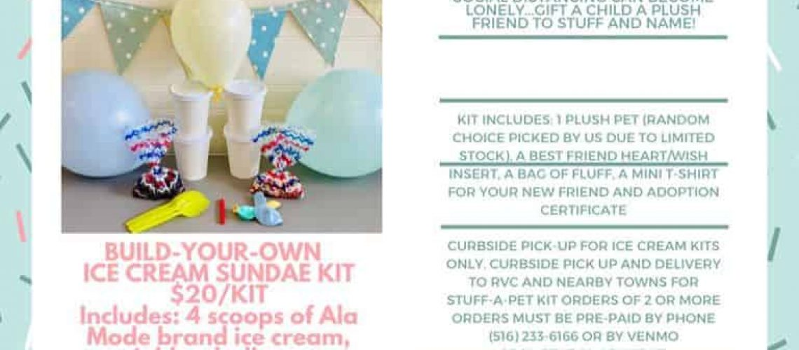 DIY Kits To Go in Rockville Centre celebrate your childs birthday in your home today!
